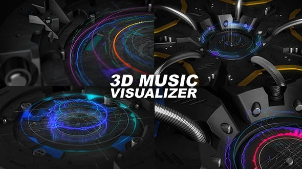 Thumbnail for Visualiseur de musique 3D