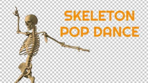 Skeleton Pop Music Dance