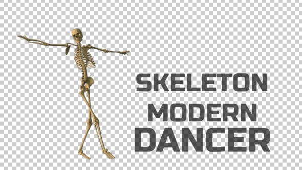 Skeleton Great Dancer