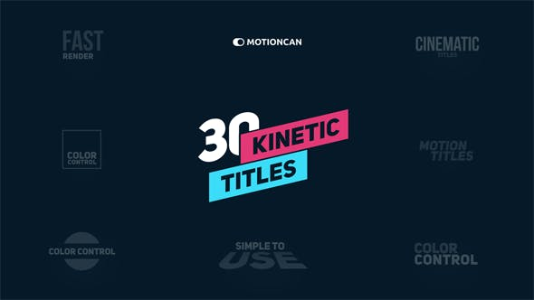 Thumbnail for Kinetic Titles