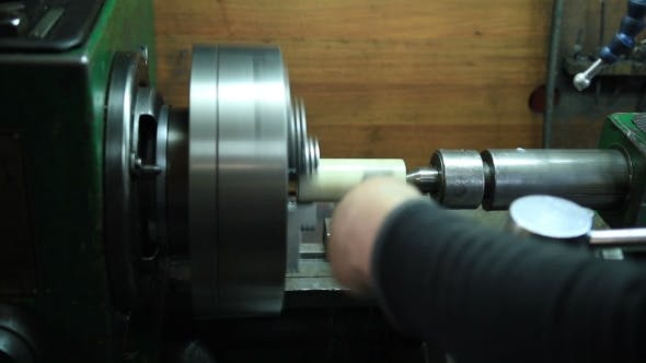 Thumbnail for Milling Machine Operator Working In The Workshop