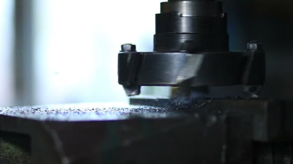 Thumbnail for Rotating Head With Drilling Machine Bits And Tools
