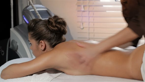 Thumbnail for Masseur Turns On The Massage Machine