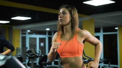 Runnig Sport Girl