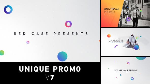 Thumbnail for Unique Promo v7 | Corporate Presentation