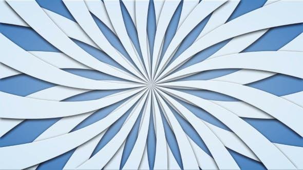 Thumbnail for Footage Animierter Hintergrund von rotierenden Balken. Loopable
