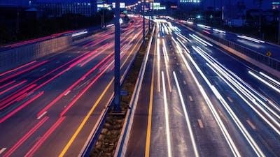 Fast Traffic Night