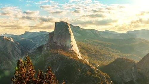 Yosemite Zeitraffer am Morgen