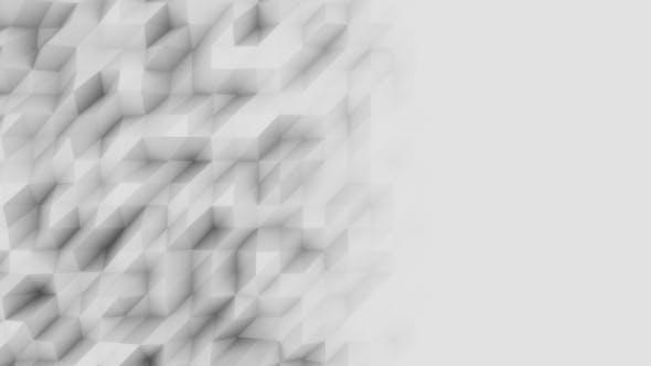 Thumbnail for Light Grey Geometric Motion Background