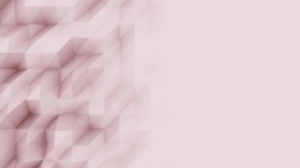 Thumbnail for Abstract Red Polygonal Motion Background