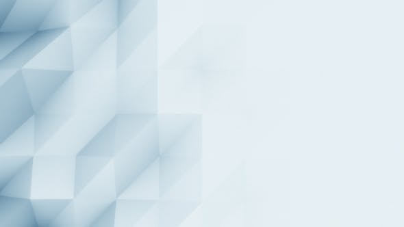 Thumbnail for Abstract Light Blue Polygonal Motion Background
