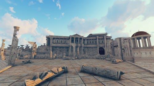 Olympia - Griechischer Tempel