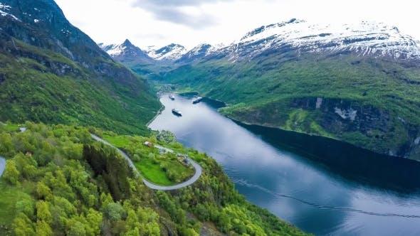 Thumbnail for Geiranger Fjord, Norway.