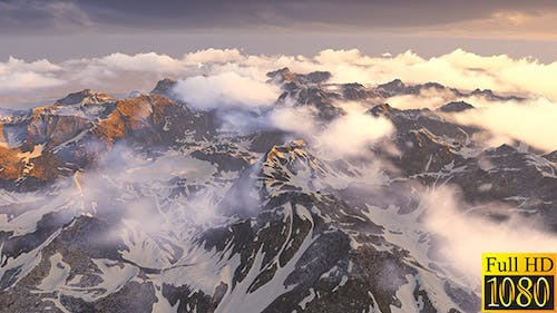 Flight Over The Snowy Mountains