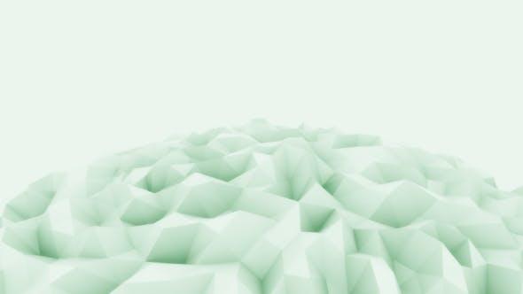 Thumbnail for Light Green Sphere Motion Background