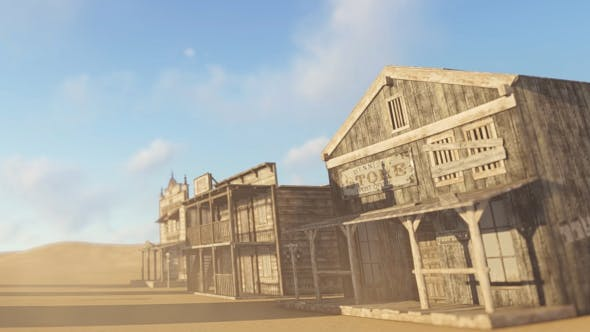 Thumbnail for Abandoned Western Village