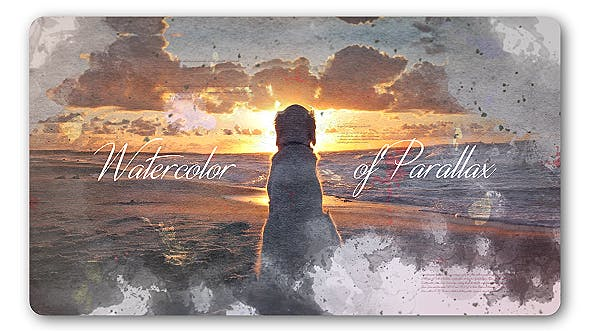 Cover Image for Watercolor Parallax Slideshow