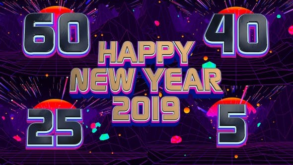 Thumbnail for New Year 2019 Countdown