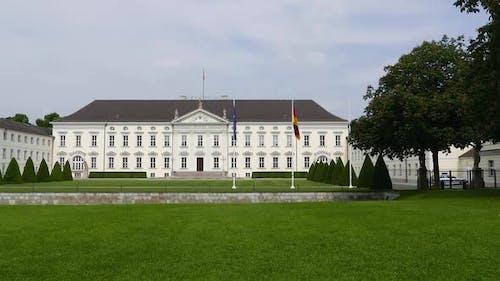 Berlin City - Bellevue Palace - Tiergarten Park