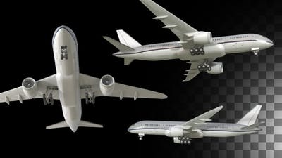 Airplane Pack Of 3