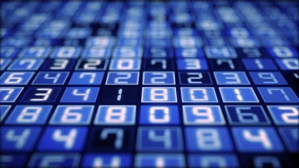 Thumbnail for Hexadecimal Big Data Digital Code Running Through 4K