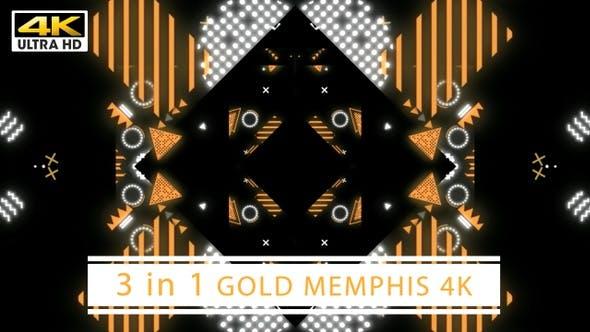 Thumbnail for Gold Memphis 4K (Schwarz)