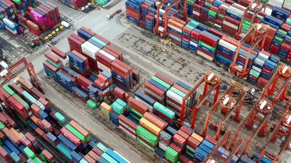 Thumbnail for Cargo Container Port in Hong Kong
