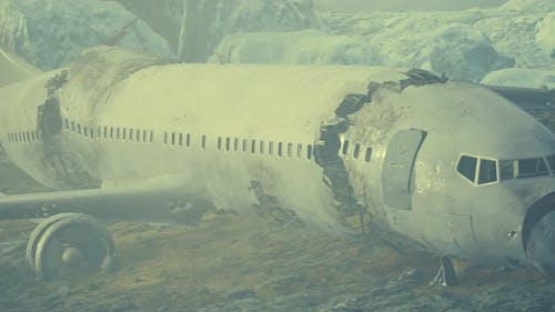 Plane Crashed on a Mountain