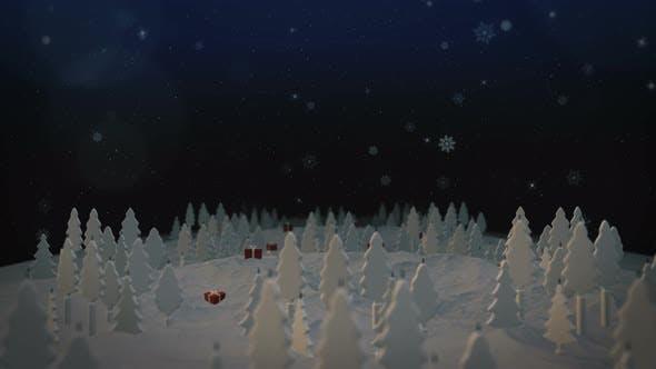 Thumbnail for Christmas Tree Snowflakes
