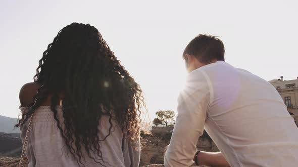 Thumbnail for Vacationing Couple Enjoying Ronda View