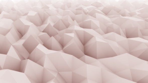 Thumbnail for Red Abstract Triangular Modern Motion Background