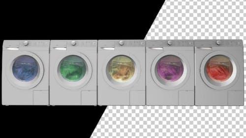 Waschmaschinen Mit Alpha-Kanal