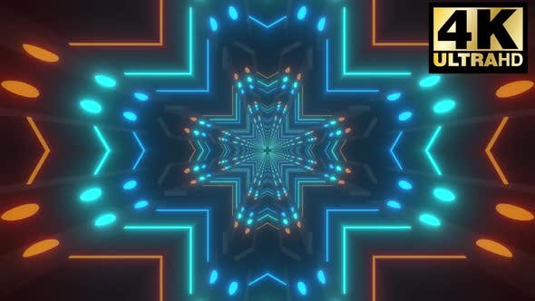 Thumbnail for Geometric Neon Tunnels Pack