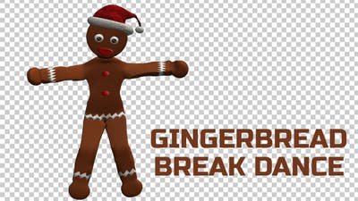 Gingerbread Break Dancer