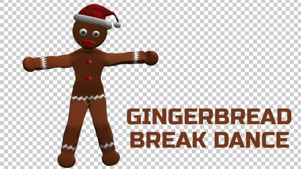 Thumbnail for Gingerbread Break Dancer