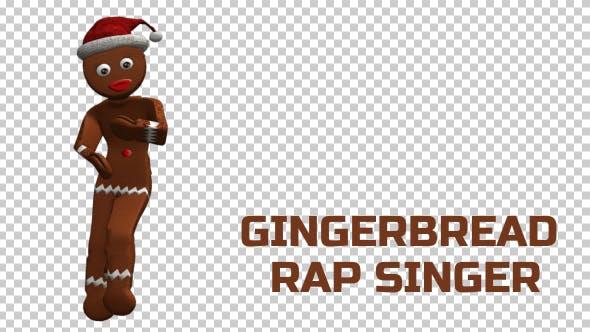 Gingerbread Rap Singer