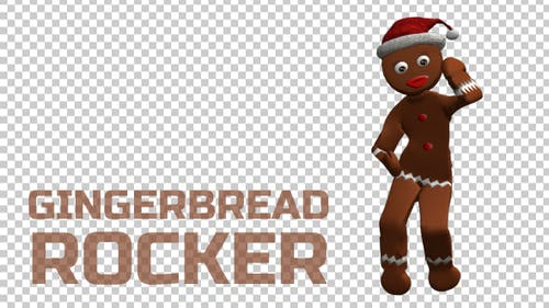 Gingerbread Rocker