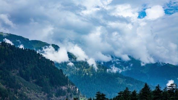 High Mountain Landscape. Spiti Valley, Himachal Pradesh, India