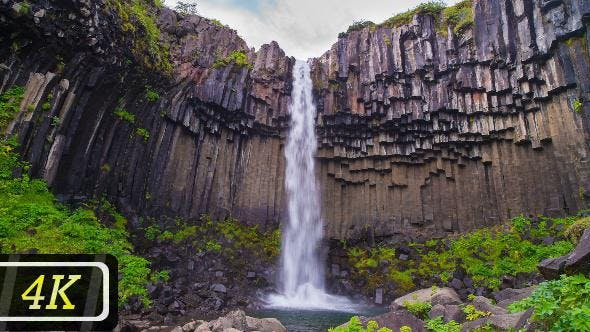 Thumbnail for Svartifoss Waterfall