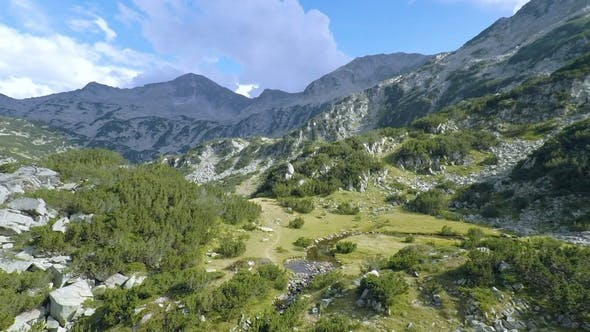 Thumbnail for Aerial footage of Bulgaria Majestic Pirin Mountain 2