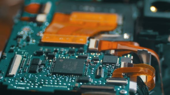 Thumbnail for Electronic Circuit With Radio Components