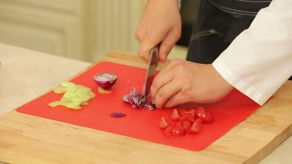 Thumbnail for Chopping Food Ingredients