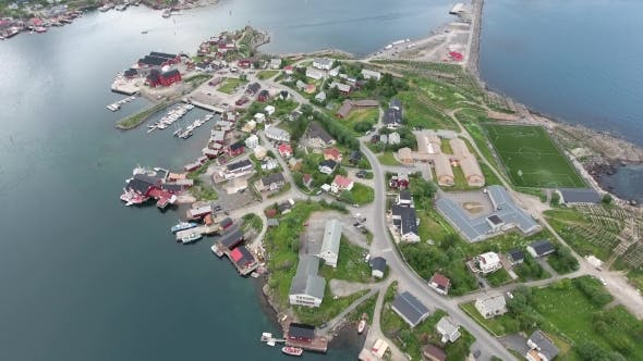 Thumbnail for Lofoten Archipelago Islands Aerial Footage