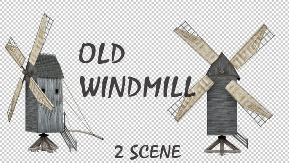 Thumbnail for Wood Windmill