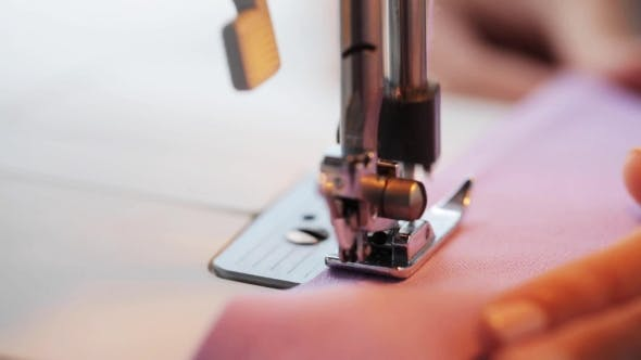 Thumbnail for Sewing Machine Presser Foot Stitching Fabric 15
