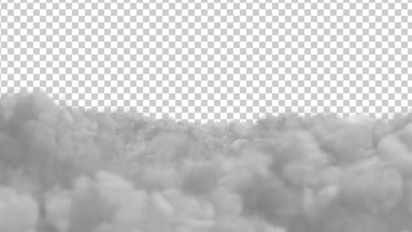Thumbnail for Flying Over The Clouds Alpha Channel