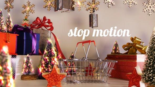 Holiday Shopping Basket
