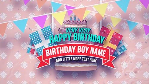 Happy Birthday Slideshow