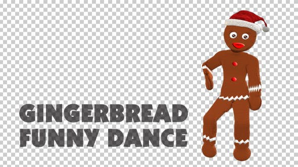 Thumbnail for Gingerbread Funny Dance