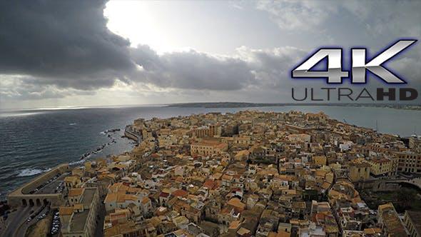 Thumbnail for Aerial Italian Neighborhood